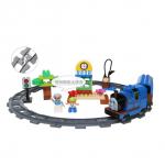 ตัวต่อเลโก้รถไฟโทมัส Thomas Train Series สีน้ำเงิน