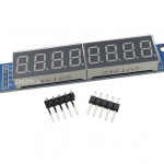MAX7219 8-Digit 7 Segment Digital LED Display Module