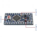 Arduino Pro Mini 5V (ATmega328P) + Free Pin Header