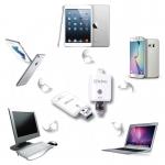 iDrive 32GB แฟลชไดร์ฟสำรองข้อมูล iphone ipad android สีขาว