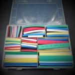 ชุดเซต ท่อหด หลากสี สำหรับหุ้มสายไฟพร้อมกล่องใส่ (Set 385 ชิ้น)
