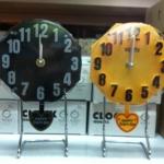 นาฬิกาตั้งโต๊ะ ทรง 8 เหลี่ยม รหัส0731