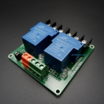 2 Channel 30A 5VDC Power Relay Coil