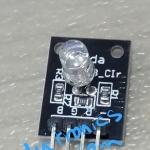 RGB LED 5 mm module (Common Cathode)