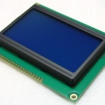 LCD Display Module 128x64 Graphic Matrix LCD with Blue Backlight