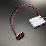 """0.28"""" Digital DC volt meter 2.4-30V โวลต์มิเตอร์ 2.4-30V ขนาด 0.28 นิ้ว (สีแดง)"""