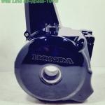 (Honda) ฝาครอบเครื่องด้านซ้าย Honda Wave 110,Wave 100S (รุ่นสตาร์ทมือ) แท้