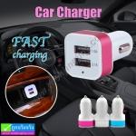 ที่ในชาร์จรถ 2 USB Car Charger C201 ลดเหลือ 69 บาท ปกติ 140 บาท