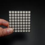 LED Square 10mm Matrix 8x8 Full Color RGB ขนาด 60mm x 60mm (Common Anode)