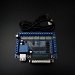 5 Axis CNC Stepping Motor Driver (Mach3) Interface Adapter Breakout Board + USB