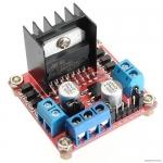 L298N H-Bridge Dual Motor Controller Module