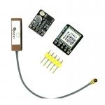 GPS Module (ATGM336H) with Antenna replacement NEO-6M / NEO-M8N โมดูล GPS ATGM336H พร้อมสายอากาศ