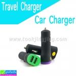ที่ชาร์จในรถ 2 USB Travel Charger & Car Charger XKY-030 ราคา 69 บาท ปกติ 170 บาท