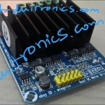 Motor Driver 50A dual H-bridge with Heat Sink