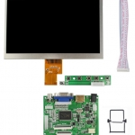 7 inch HD Desktop Display for Raspberry Pi + Rack (Version 2)
