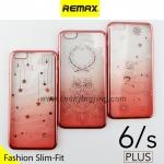 เคส ซิลิโคนใส iPhone 6 Plus Remax Wear it Diamond color ลดเหลือ 35 บาท ปกติ 250 บาท