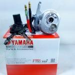ชุดสวิทช์กุญแจ Yamaha Spark Nano (รุ่นมีฝานิรภัย) แท้