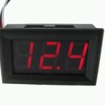 DC Digital Voltmeter Module (Red Color)