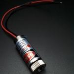Adjustable Laser Tube 650nm 50mW - Dot Laser (แสงตกบนฉากเป็นรูปจุดปรับความหนาได้)