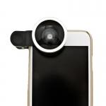 Selfie Cam Lens เลนส์เซลฟี่ สีเงิน