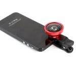 Selfie Cam Lens เลนส์เซลฟี่ สีแดง
