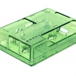 Raspberry Pi 3/2B/B+ Transparent Enclosure (Green)