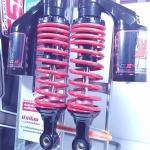 (X-1)โช้คอัพหลังคู่ YSS รุ่น G2 สำหรับ Yamaha X-1 สี ดำ-แดง
