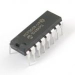 MCP3008 DIP16 (ADC) 8-Channel 10-Bit ADC With SPI Interface