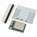 ESP-07 (ESP8266) + Adapter Plate + Pin