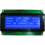 LCD 2004 Module 20x4 (Blue Backlight) + I2C Interface