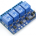 4 Channel Relay Module (5V 10A)