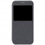 เคสซัมซุงS6 เคสS6 ฝาพับ nillkin Sparkle Leather Case สีดำ