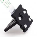 Adjustable Pi Camera Mount (Black) ฐานตั้งกล้อง RPi สีดำ