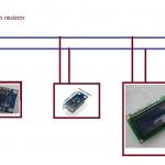 การใช้งาน I2C LCD
