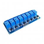 8 Channel Relay 5V 10A (Optocoupler) รีเลย์ 8 ช่อง (TongLing รุ่น JQC-3FF-S-Z)