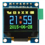 "RGB OLED 0.95"" 96x64 Pixels 16-bit Color OLED - SPI Interface"