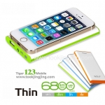 Power Bank แบตสำรอง Golf 6800 mAh Tiger 123