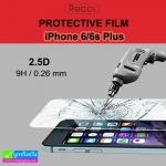 ฟิล์มกระจก iPhone 6/6s Plus Recci