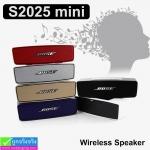 ลำโพง บลูทูธ S2025 mini Wireiess Speaker ลดเหลือ 270 บาท ปกติ 675 บาท