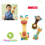 ตุ๊กตาเขย่ามีเสียง Skip Hop Giraffe Safari Squeeze Me Rattle Toy
