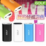 Power Bank GOLF 5000 mAh Tiger 26