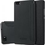เคส Huawei P8 Lite ฝาพับ nillkin Sparkle Leather Case สีดำ