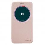 "nillkinแท้ เคสฝาพับเซนโฟน2 5.5""(ZE551ML) รุ่น Sparkle Leather Case สีทอง"