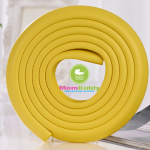ยางกันชนกันกระแทก สีเหลือง แบบม้วน ยาว 2 เมตร ใช้ติดขอบตู้ขอบเตียงหรือส่วนที่แหลมช่วยป้องกันเด็ก