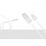 สายชาร์จ HOCO EmergencyCharging Cable UPL16 สีเทา