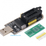 CH341A 24 25 Series EEPROM Flash BIOS USB Programmer + LED Indicator
