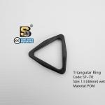 """สามเหลี่ยม 1.5"""" / Tri-Ring 1.5"""" (แข็ง)"""