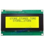 LCD 2004 Module 20x4 (Yellow-Green Backlight)