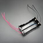 รางถ่าน 18650 จำนวน 2 ก้อน แบบแยกอิสระ จ่ายไฟได้ 3.7V หรือ 7.4V