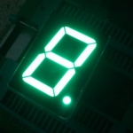 0.56 inch Seven Segment 1 Digit Green (Common Cathode) 12.7 x 19.1 x 8.1mm - 5161AG